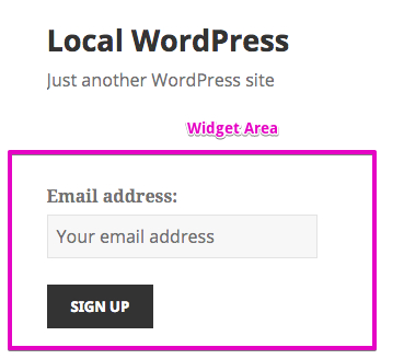 widget-area