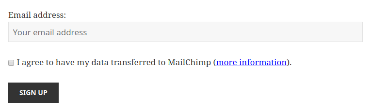 Mailchimp For Wordpress And The Gdpr